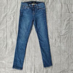 J Brand 811 skinny jean, size 26